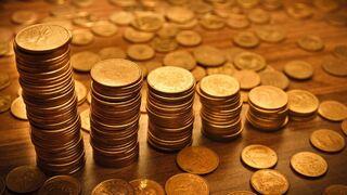 כסף מטבעות פנסיה חיסכון , שאטרסטוק