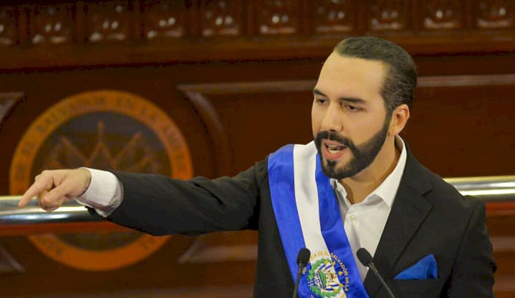 נאיב בוקלה נשיא אל סלבדור Nayib Bukele