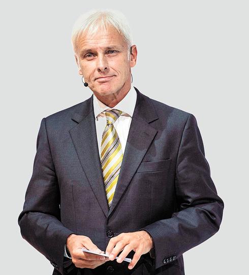 """מרטין וינטרקורן מנכ""""ל פולקסווגן לשעבר, צילום: AFP"""