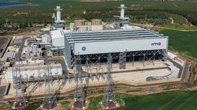 תחנת הכוח דליה של דליה אנרגיה, צילום: דגן פתרונות דיגיטליים