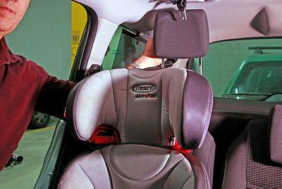 כיסא בטיחות לילד, דנה קופל