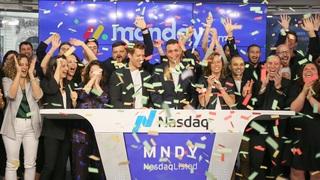 monday.com managing team open Nasdaq trade following Thursday's IPO Photo: Nasdaq