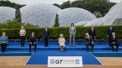 מנהיגי העולם בכינוס ה-G7, צילום: גטי אימג