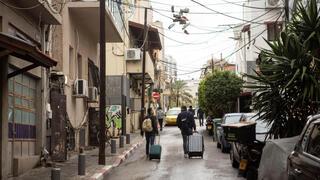 פנאי רחוב כרם התימנים תל אביב