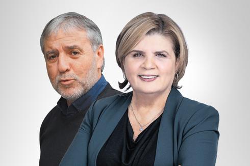 שרת הכלכלה הנכנסת אורנה ברביבאי ושר הרווחה הנכנס מאיר כהן, צילום: דובורת יש עתיד, שאול גולן