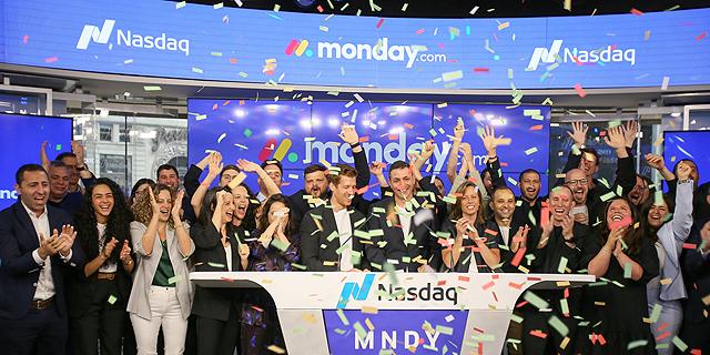 חגיגת פתיחת מסחר Monday.com מאנדיי ב נסאדק