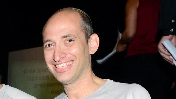 """אביעד פרידמן למנכ""""ל משרד השיכון והבינוי הנכנס, צילום: אמנון פנחס"""