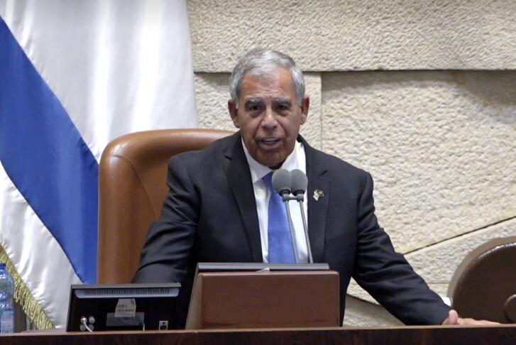 """יו""""ר הכנסת מיקי לוי מליאה מליאת הכנסת השבעה השבעת ממשלה ממשלת השינוי כנסת"""