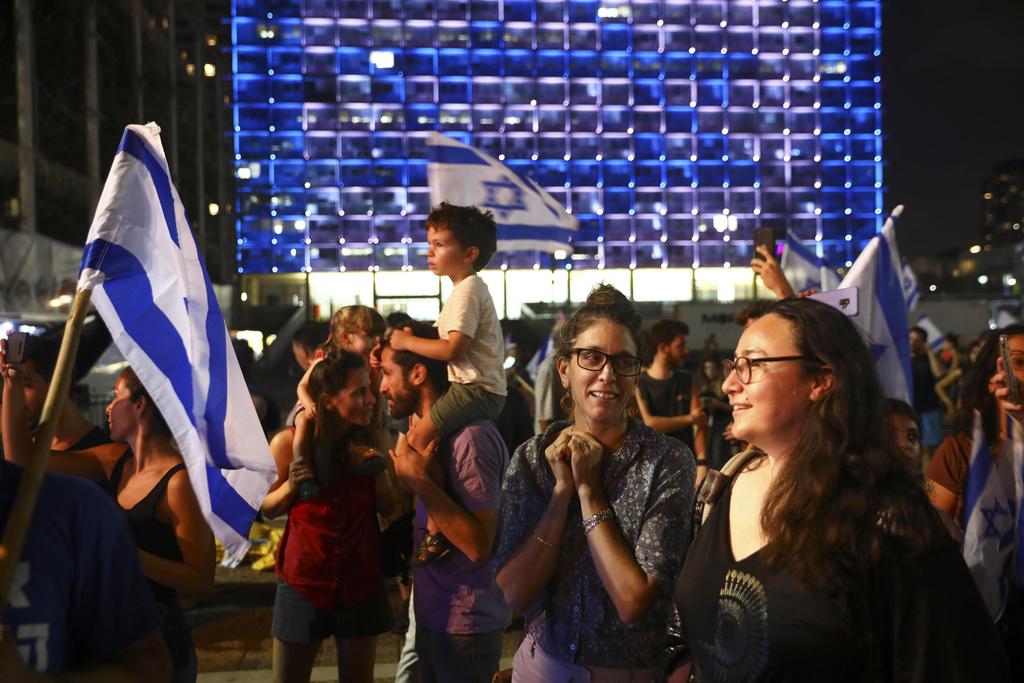 כיכר רבין תל אביב חגיגות חגיגה של השבעת הממשלה ממשלת השינוי