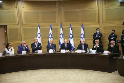 ישיבת הממשלה החגיגית, אחרי ההשבעה, צילום: אלכס קולומויסקי