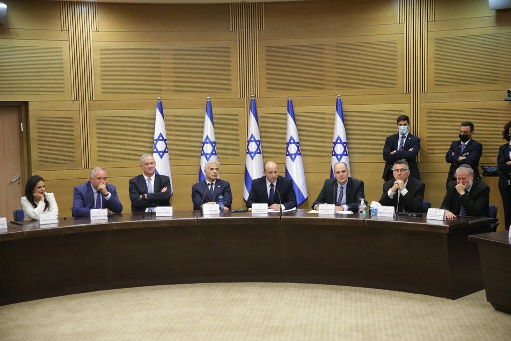 ראש הממשלה נפתלי בנט ישיבת ממשלה אחרי השבעת ממשלה כנסת ירושלים