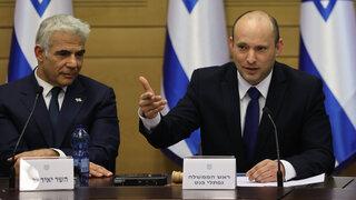 ראש הממשלה נפתלי בנט ישיבת ממשלה אחרי השבעת ממשלה כנסת ירושלים 2, צילום: אלכס קולומויסקי