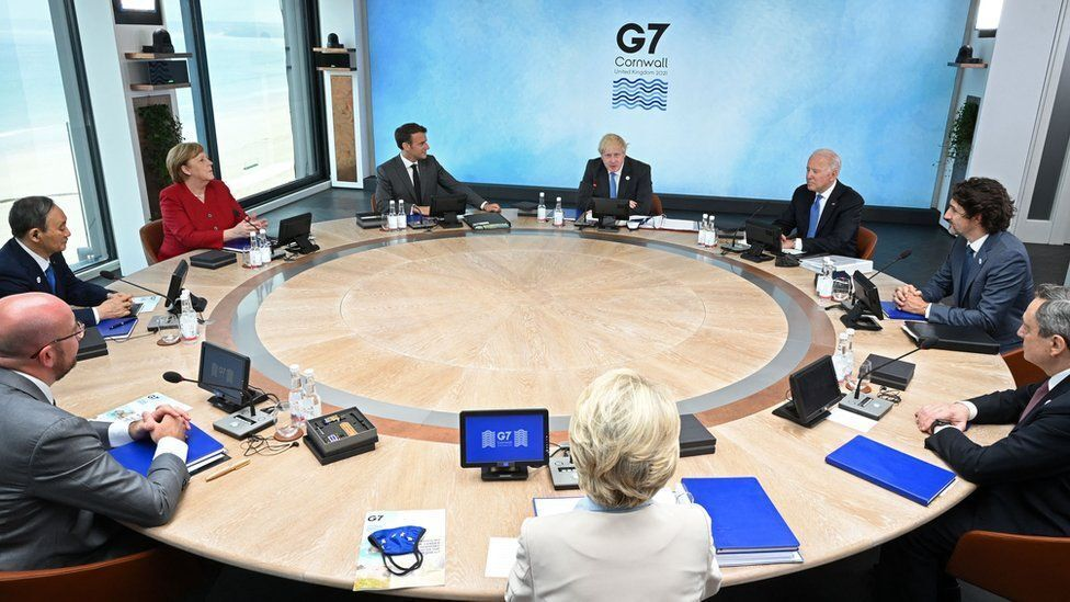 פסגת G7 קורנוול בריטניה