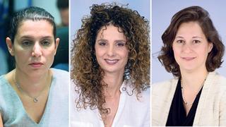 מימין יעל מבורך לירן אבישר בן חורין ו נעמה שולץ