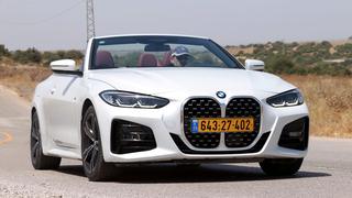 מבחן רכב BMW 4 ב מ וו 4