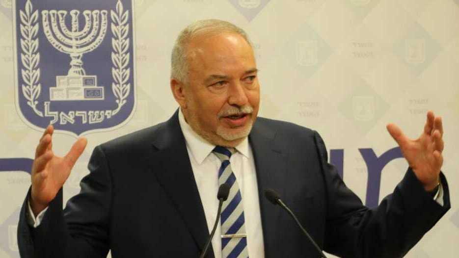 שר האוצר אביגדור ליברמן יוני 2021