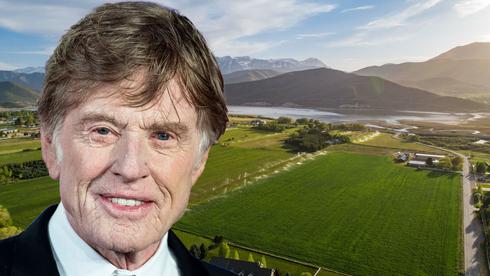 רוברט רדפורד מוכר את החווה שלו ביוטה ב-4.9 מיליון דולר