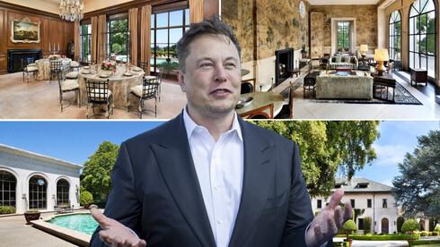 אחרי 3 חודשים על המדף - אלון מאסק הוריד את המחיר המבוקש עבור ביתו בעמק הסיליקון