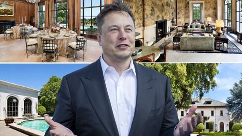 """מאסק מוכר את הבית האחרון שבבעלותו בכ-37 מיליון דולר: """"מיועד למשפחה גדולה"""""""
