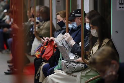 הרכבת התחתית במוסקבה , צילום: AP