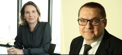 עורכי הדין יבגני רובין וענבר אפק נכט, צילום: אייל נבו