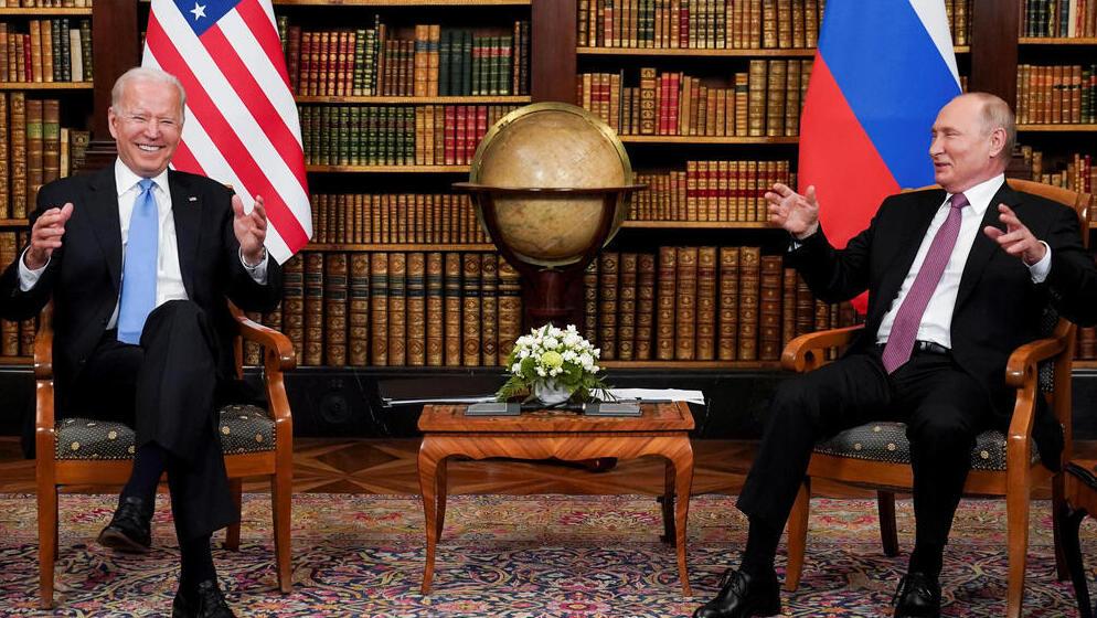 ביידן: פוטין לא רוצה מלחמה קרה; סיכמנו לוודא שלאיראן לא יהיה נשק גרעיני