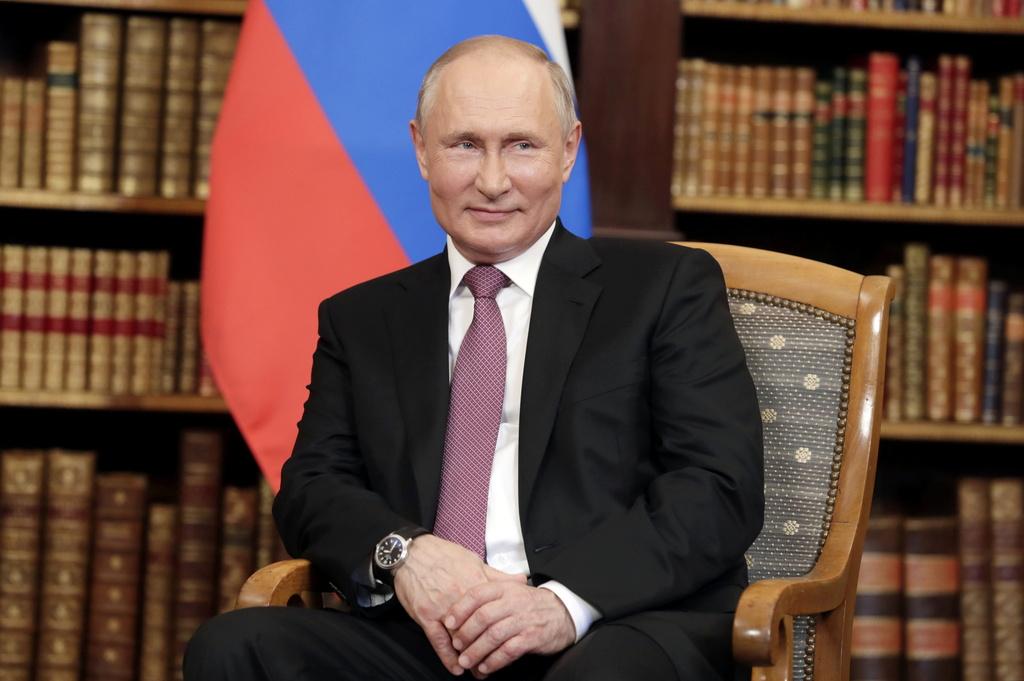 נשיא רוסיה ולדימיר פוטין יוני 2021
