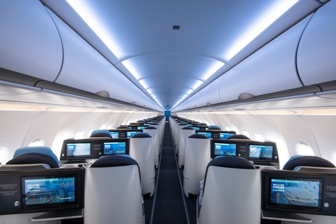 וכך נראה המטוס מבפנים, צילום: LA COMPAGNIE