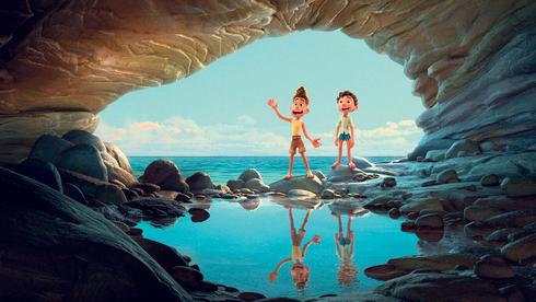 """""""לוקה"""". מזכיר את """"בת הים הקטנה"""" של דיסני, צילום: Pixar / Walt Disney"""