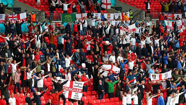 אוהדי נבחרת אנגליה ביורו 2020, גטי