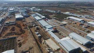 אזור התעשייה של כפר קאסם, צילום: תנועת רגבים