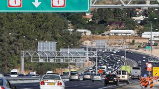 כביש 1 ירושלים תל אביב, צילום: עמית שאבי