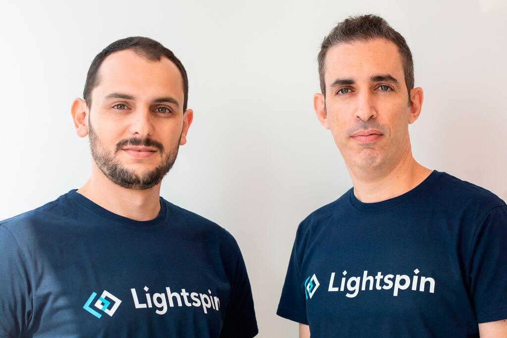 מייסדי Lightspin אור עזרזר ו ולאדי סנדלר