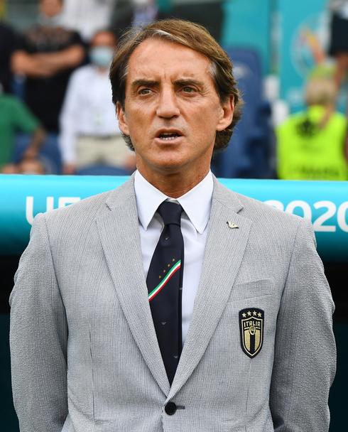 מאמן נבחרת איטליה רוברטו מאנצ