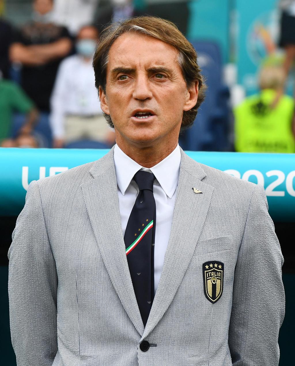 מאמן נבחרת איטליה רוברטו מאנצ'יני