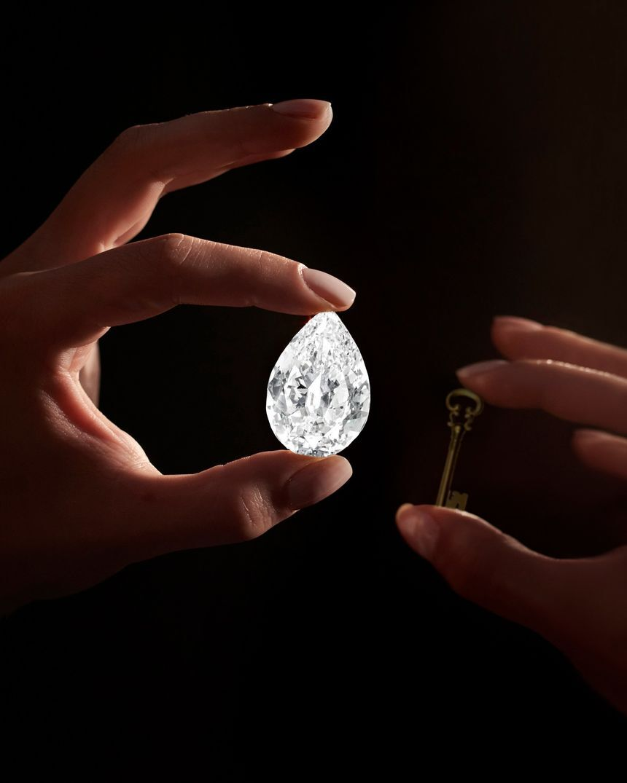 יהלום שיימכר בסותבי'ס תמורת מטבע דיגיטלי קריפטו