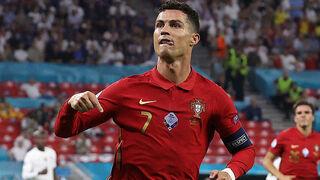 כריסטיאנו רונלדו נבחרת פורטוגל, צילום: AFP