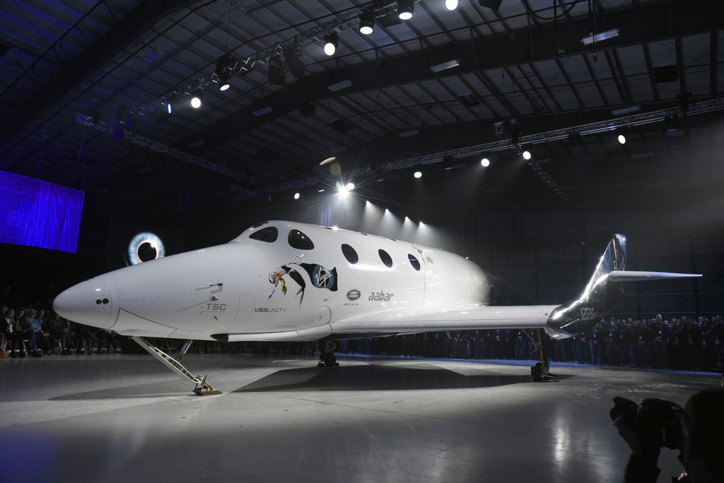 וירג'ין גלקטיק ה חללית Spaceship Two