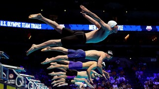 פוטו מתכוננים לאולימפיאדת טוקיו שחייה אריק אנדרסון, צילום: רויטרס