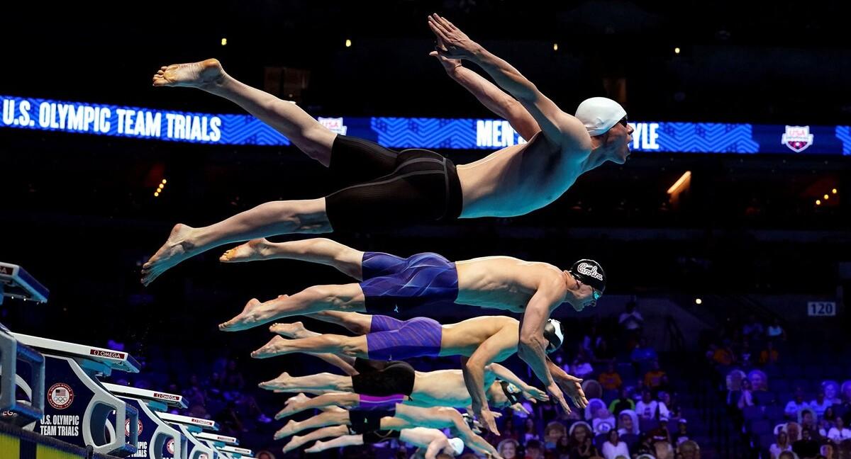 פוטו מתכוננים לאולימפיאדת טוקיו שחייה אריק אנדרסון