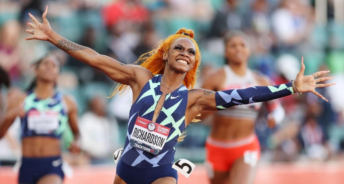 פוטו מתכוננים לאולימפיאדת טוקיו ריצה שרי ריצ'רדסון