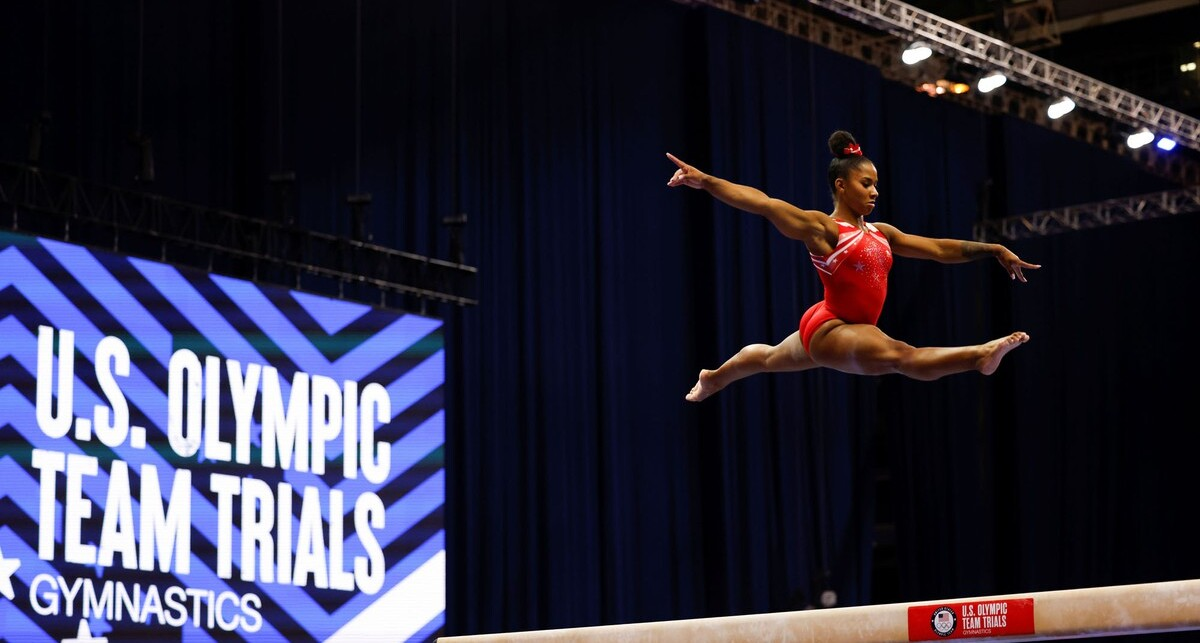 פוטו מתכוננים לאולימפיאדת טוקיו התעמלות גורדן צ'יילס