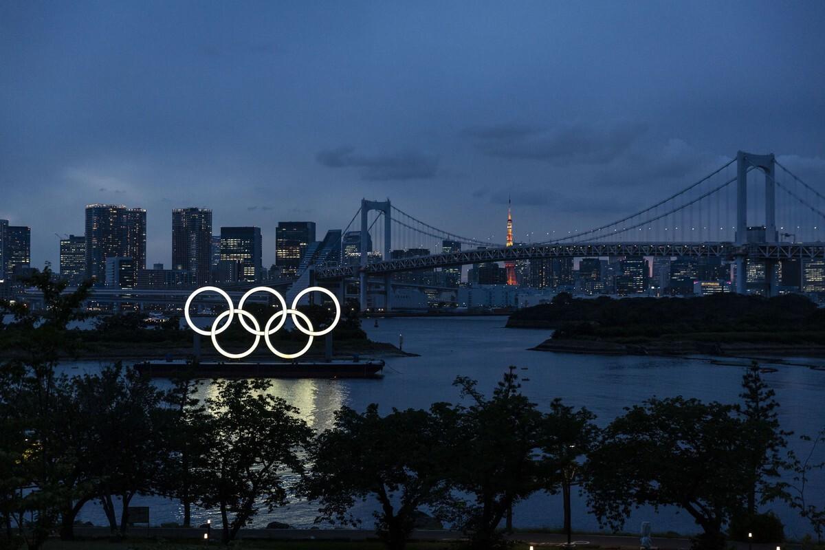פוטו מתכוננים לאולימפיאדת טוקיו הטבעות האולימפיות
