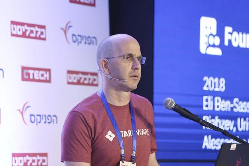 """אורי קולודני מייסד משותף ומנכ""""ל StarkWare, כנס פינטק 2021 , צילום: אוראל כהן"""