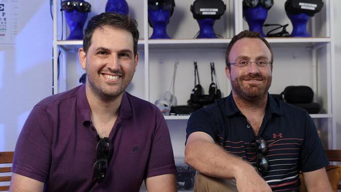 Multinarity co-founders. Photo: Orel Cohen
