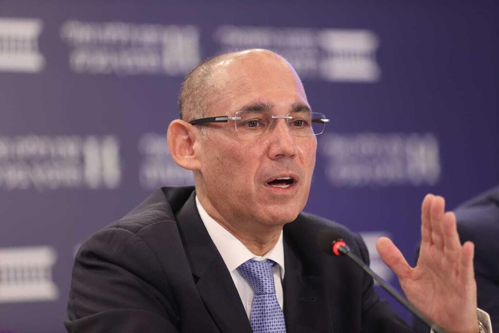 נגיד בנק ישראל פרופ' אמיר ירון כנס אלי הורביץ יוני 2021