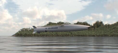 """טיל הסי ברייקר של רפאל , צילום: יח""""צ"""