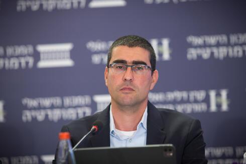 קובי בר נתן, הממונה על השכר משרד האוצר, צילום: המכון הישראלי לדמוקרטיה