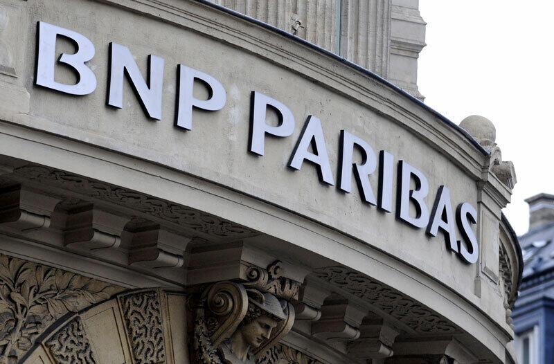 סניף של בנק BNP פאריבה