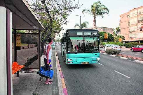 תחבורה ציבורית, צילום: ענר גרין